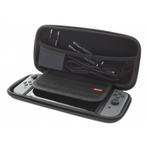 DELTACO GAMING Nintendo Switch Hard Carry Case, 10 pockets for games, black GAM-089