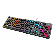 Keyboard DELTACO GAMING mechanical, UK, RGB, black / GAM-112-UK