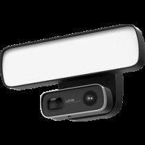 Weatherproof floodlight IP camera, 1080p, LED spotlight, black / GF-L300-PRO
