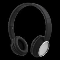 Headphones STREETZ, bluetooth, black-chrom / HL-345