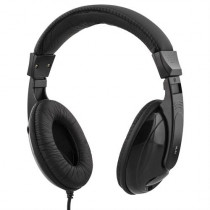 Headphones DELTACO, 2.5m, black / HL-51
