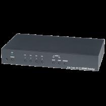 HDMI Switch Deltacoimp 4xHDMI, UltraHD, 60Hz, black / HS04-4K6G