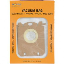 Dust bags Nordic Quality MEL2068 Electrolux 5pcs + 1 filter / 358501