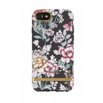 Case Richmond for iPhone 6/6s/7, black floral / IP678-206
