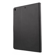 "DELTACO case for iPad 9.7 ""(2017/2018), vegan leather, magnetic locking, support function, black IPD-2017-2"