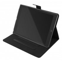 "DELTACO case for iPad 10.2 ""2020, vegan leather, magnetic locking, support function, black  IPD-2020"