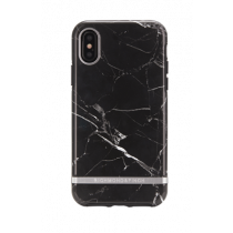 Richmond & Finch Black Marble case, Silver details, iPhone X/XS IPX-064