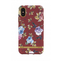Case Richmond for iPhone X, red floral / IPX-202