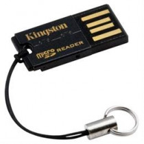 MicroSD Reader Gen 2, memory card reader, 1 slot, USB 2.0, microSD / SDHC Kingston / KING-0073