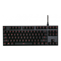 HyperX Alloy FPS Pro Mechanical Gaming Keyboard, MX Red, US Layout, Anti-Ghosting, 180cm Cable, Black  KING-2391 / HX-KB4RD1-US/R2