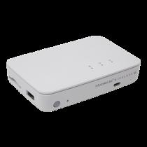 SD reader Kingston MobileLite Wireless G3 1x RJ45, white / KING-2394