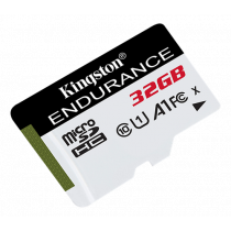 Kingston Endurance microSDHC card, 32GB, UHS-I, Class 10, 95MB / s read, 45MB / s write, black / KING-2813