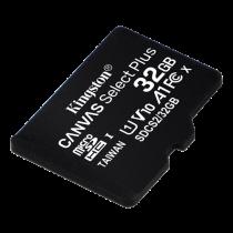 Kingston Canvas Select Plus MicroSDHC, 32GB, Class 10 UHS-I, black / KING-2984