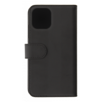 DELTACO wallet case 2-in-1, iPhone 12 mini, magnetic cover, black MCASE-WIP1254
