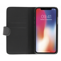 DELTACO wallet 2-in-1, iPhone XR, magnetic back, black  MCASE-WIPXR