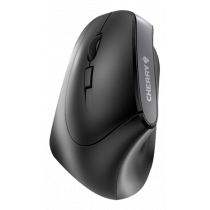CHERRY MW 4500 LEFT - Mouse - ergonomic - left handed - optical - 6 buttons - wireless - wireless USB receiver - black JW-4550 /  MS-187-L