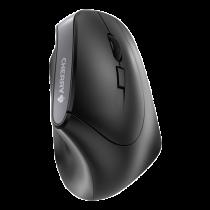 Ergonomic wireless mouse CHERRY USB nano, black / MS-187