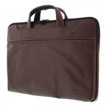 "DELTACO notebook case up to 15.6 "", PU leather, brown / NV-793"