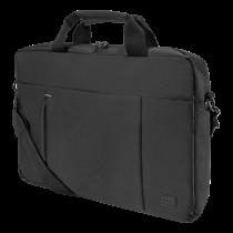 "DELTACO laptop case, for laptops up to 15.6 "", polyester, black / NV-906"