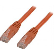 Cable DELTACO U / UTP Cat5e 1.0 m, orange / OR1-TP