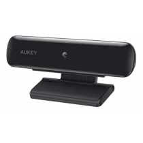 Aukey PCW1 webcam, integrated micraphone, Full HD 1080p 30fps,for conference and video, black / PC-W1