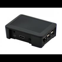 Case - Plastic box Raspberry Pi RB-BLACK / RPI-BOX14