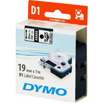 D1, brand tape, 19mm, black text on transparent tape, 7m - 45809 DYMO / S0720820