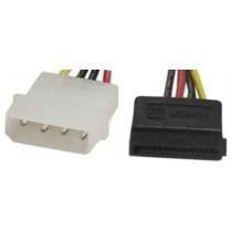 Adapter DELTACO 4-pin, 15-pin ATA / SATA-S