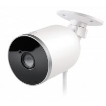 "DELTACO SMART HOME network camera for outdoor use, IP65, 1080p, WiFi 2.4GHz, IR 10m, 1 / 2.7 ""CMOS, microSD, white SH-IPC04"