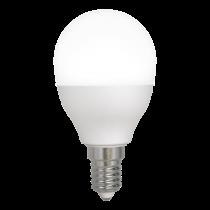 DELTACO SMART HOME LED lamp, E14, WiFI 2.4GHz, 5W, 470lm, dimmable, 2700K-6500K, 220-240V, white / SH-LE14G45W