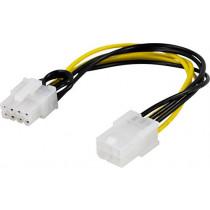 Adapter 6-pin PCI-Express to 8-pin PCI Express, 10 cm / SSI-61