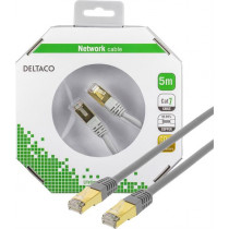Cable DELTACO, 5m, gray / STP-75-K