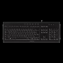 Cherry Stream 3.0, large ultra-flat keyboard with Cherry SX switch, EU Layout, black JK-8500EU-2 / TB-334