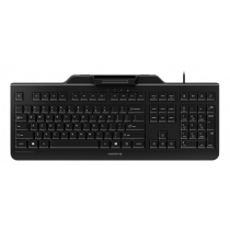 CHERRY SECURE BOARD 1.0, contactless smart card keyboard, Nordic layout black TB-360