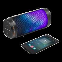 Bluetooth speaker Technaxx  LED light, 2000mAh, black / TECH-017