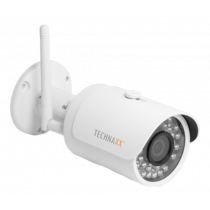 "Outdoor camera Technaxx Bullet PRO, FullHD, 2304x1536, IP67, 3 MP CMOS 1/3"", white / TX-65 / TECH-029"