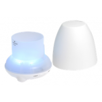 TrendGeek LED Aroma diffuser TG-24, 5-in-1 function, LED lighting in 7 different colors, white LED TEC-4724 / TECH-069