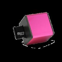 MusicMan Mini MP3 player, microSD, 3,5mm, media controls Technaxx pink / TECH-090