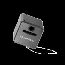 MusicMan Mini MP3 Player, MicroSD, 3.5mm, Media Controller Technaxx black / TECH-091