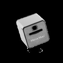 MusicMan Mini MP3 Player, MicroSD, 3.5mm, Media Controller Technaxx silver / TECH-092