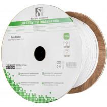 Installation cable DELTACO F/FTP Cat6a, LSZH, 305m box, 500MHz, Delta-certified, white / TP-51C