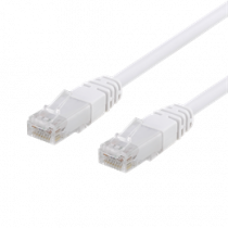 U / UTP Cat6 patch cable, CCA, 1m, 250MHz EPZI white / TP-61V-CCA