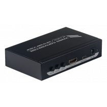 Adapter DELTACO HDMI, VGA, 1920x1080, 5V DC, black / VGA-HDMI8