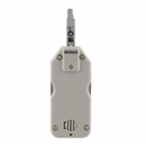 Compact slot tool for network cable, Krone LSA, hook and chisel DELTACO white / VK-263
