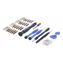 Smartphone repair kit DELTACO 38 pcs, blue / VK-51