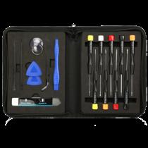 Professional iPhone repair kit, 21 parts, Premium Philips chisel DELTACOIMP black / VK-57