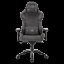 L33T Gaming - Игровое кресло Elite V4 (SOFT CANVAS) Темно-серый с. декор