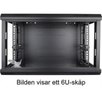 """TOTEN, 19 """"wall cabinets, 9U, 600x450, black / 19-6409PP"""