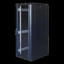 """TOTEN System G, 19 """"шкаф, 32U, 600x1000, стеклянная входная дверь, металлический ре"""