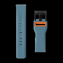 UAG Samsung Galaxy Watch 46-миллиметровый гражданский ремешок шиферный / оранжевый